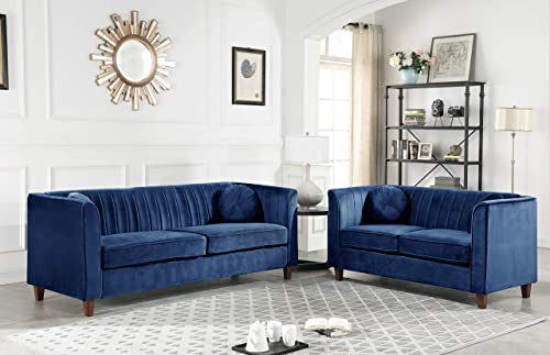 Container Furniture Direct Arminta Sofa and Loveseat Living Room Set