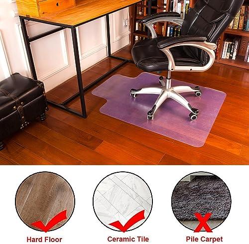 Mysuntown Office Chair Mat for Hardwood Floor