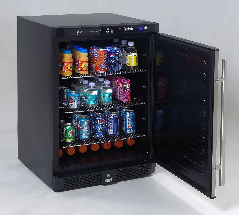 Undercounter Drink Refrigerator Amazoncom Avanti 53 Cu Ft All Refrigerator Stainless Steel