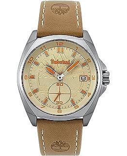 4baa109b379f Timberland Reloj Análogo clásico para Hombre de Cuarzo con Correa en Cuero  TBL.15354JS