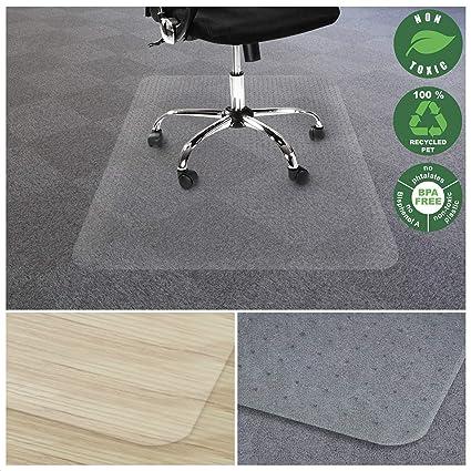 Oficina mariscal silla alfombrilla para alfombras | Eco-friendly serie silla Protector de suelos |