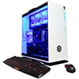 CyberpowerPC Gamer Xtreme GXi10200A Desktop Gaming PC (Intel i7-7700 3.6GHz, NVIDIA GTX 1060 6GB, 16GB DDR4 RAM, 1TB 7200RPM HDD, 120GB SSD, Win 10 Home), White