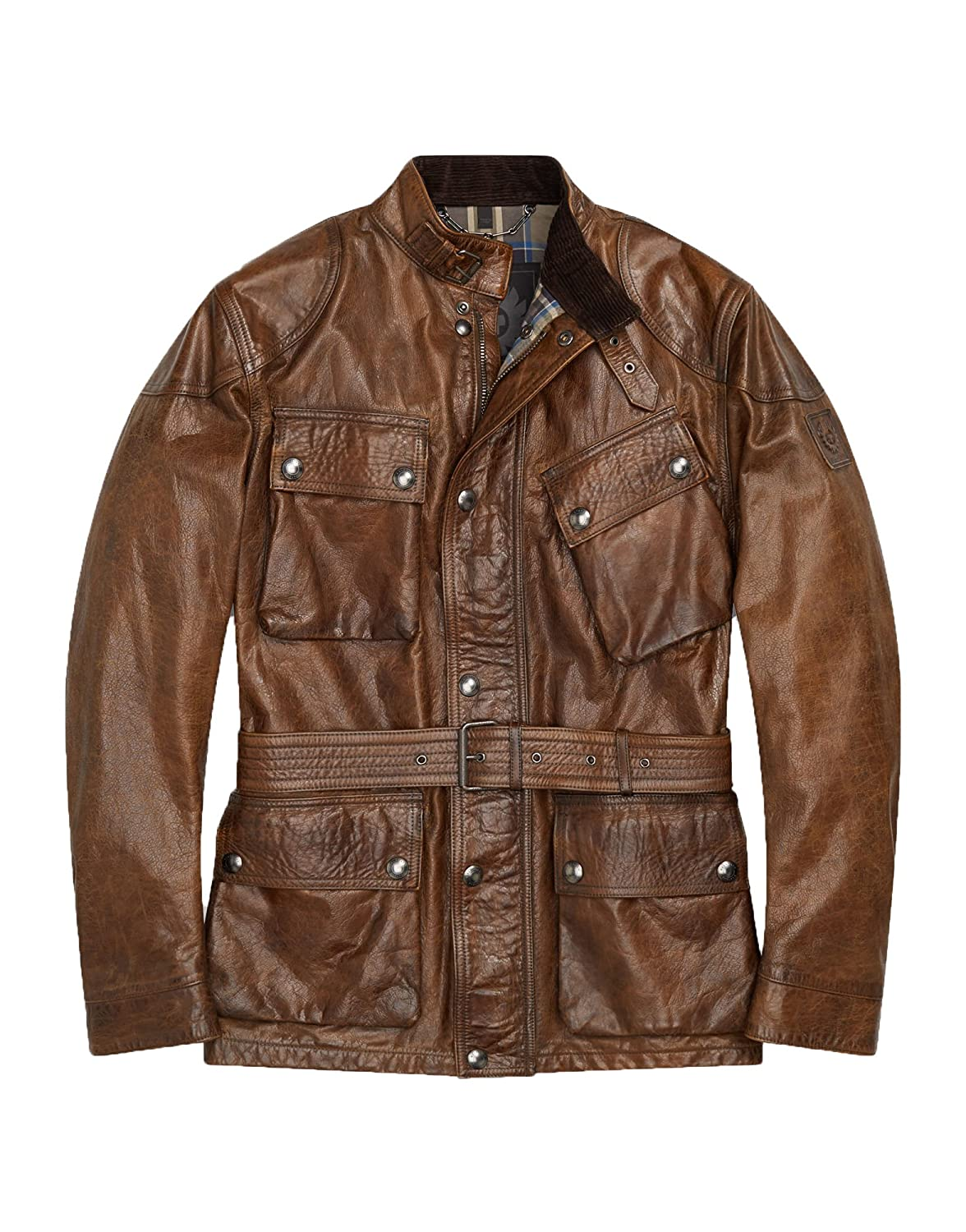 7011ecfc8cb8 Mens Tough Long Spicy Look Genuine Lambskin Leather Jacket