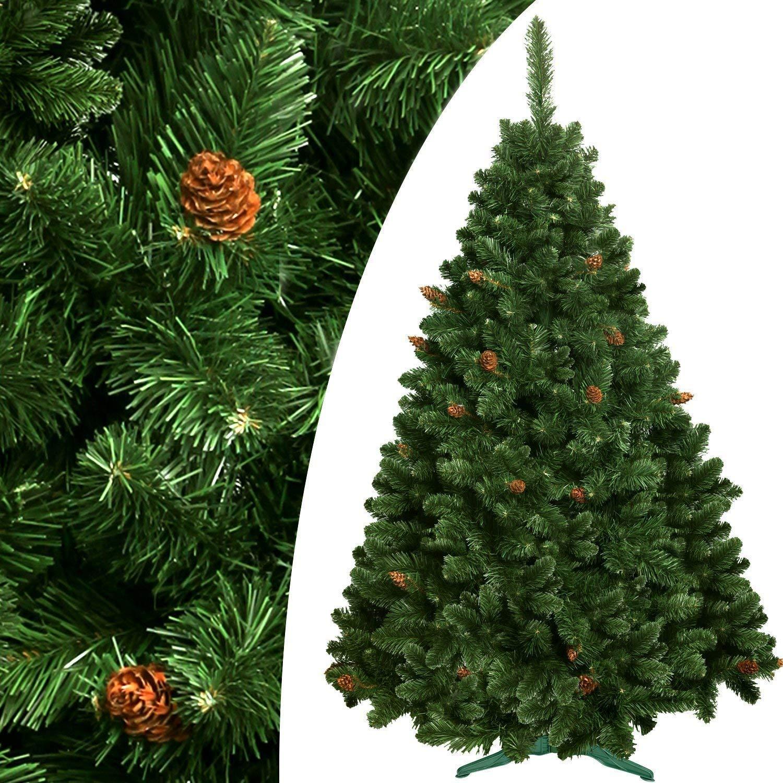 DecoKing Premium Serie 250 cm Künstlicher Weihnachtsbaum Tannenbaum Christbaum Kiefer Amelia Weihnachtsdeko