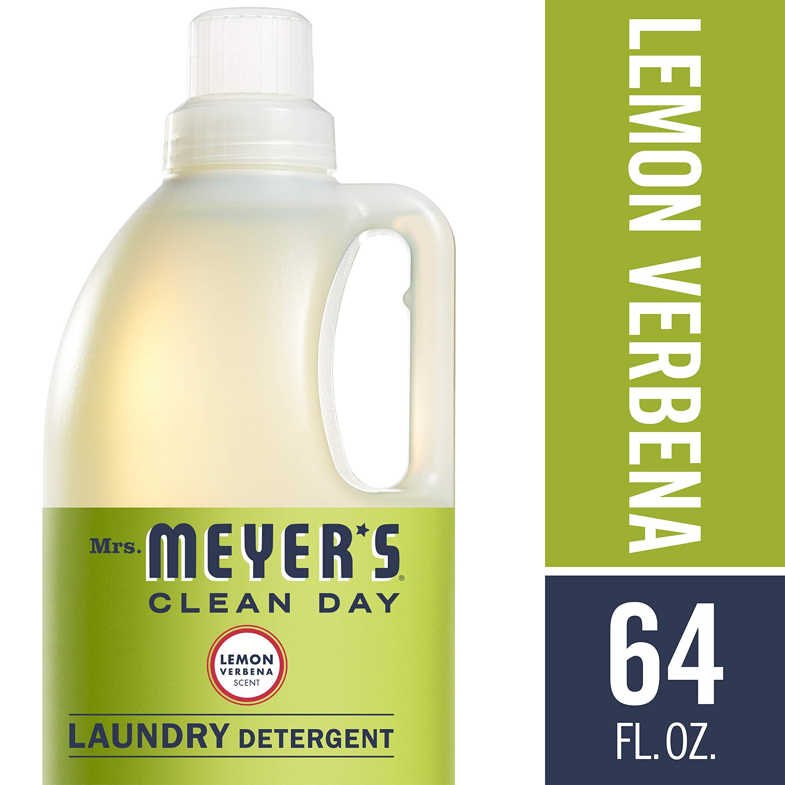 Mrs. Meyer's Laundry Detergent, Lemon Verbena, 64 fl oz