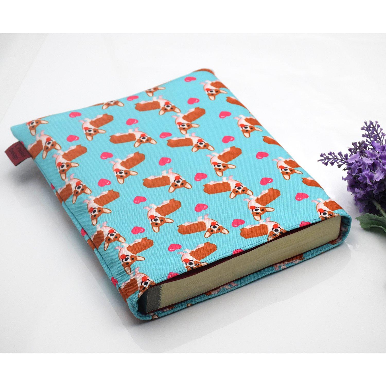 Amazon.com: Libro manga Corgi funda de Libro para perro ...