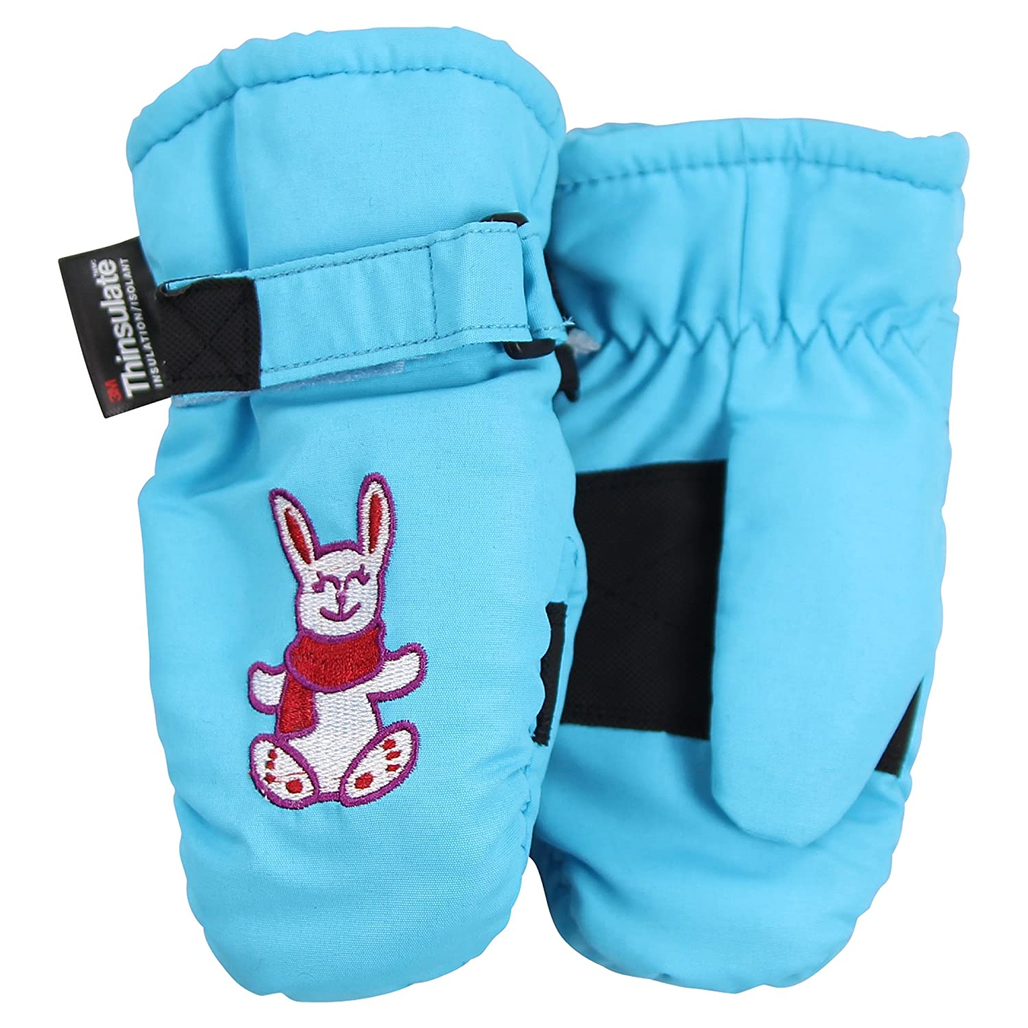 Toddler Girl's Waterproof / Thinsulate Lined Winter Mittens (Ages 2-4)