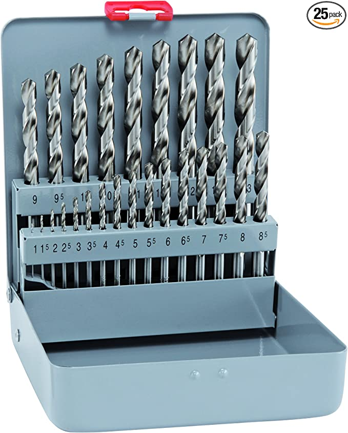 0mm Alpen 20301900100 Morse Taper Shank Drills Hss-Eco Din 345 Rn 19