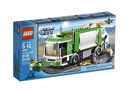 Amazon Lego City Town Garbage Truck 4432 Toys Games