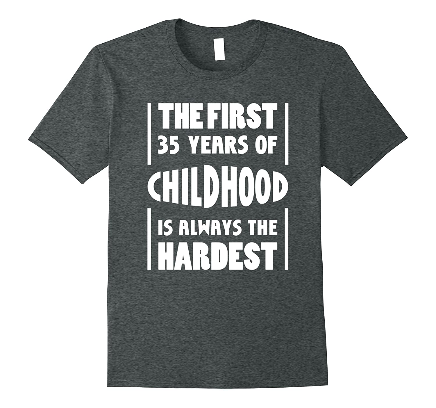 35 Years Old Birthday Gift T-Shirt 35th Birthday Shirt Funny