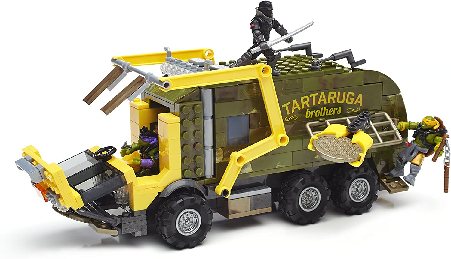 Mega Bloks Teenage Mutant Ninja Turtles: Out of the Shadows Battle Truck Construction Set-413 Pieces