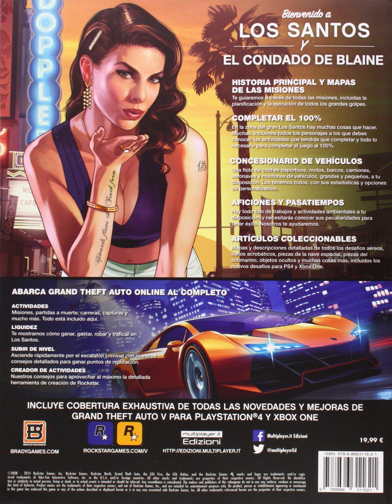 Guia Grand Theft Auto V Edicion Actualizada Amazon Es Vv Aa Libros