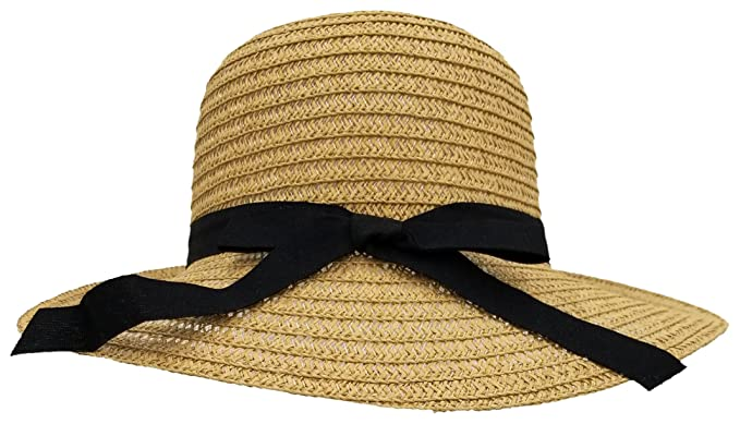 da0ad3922e3 Image Unavailable. Image not available for. Color  Woven Sun Hats for Women  ...