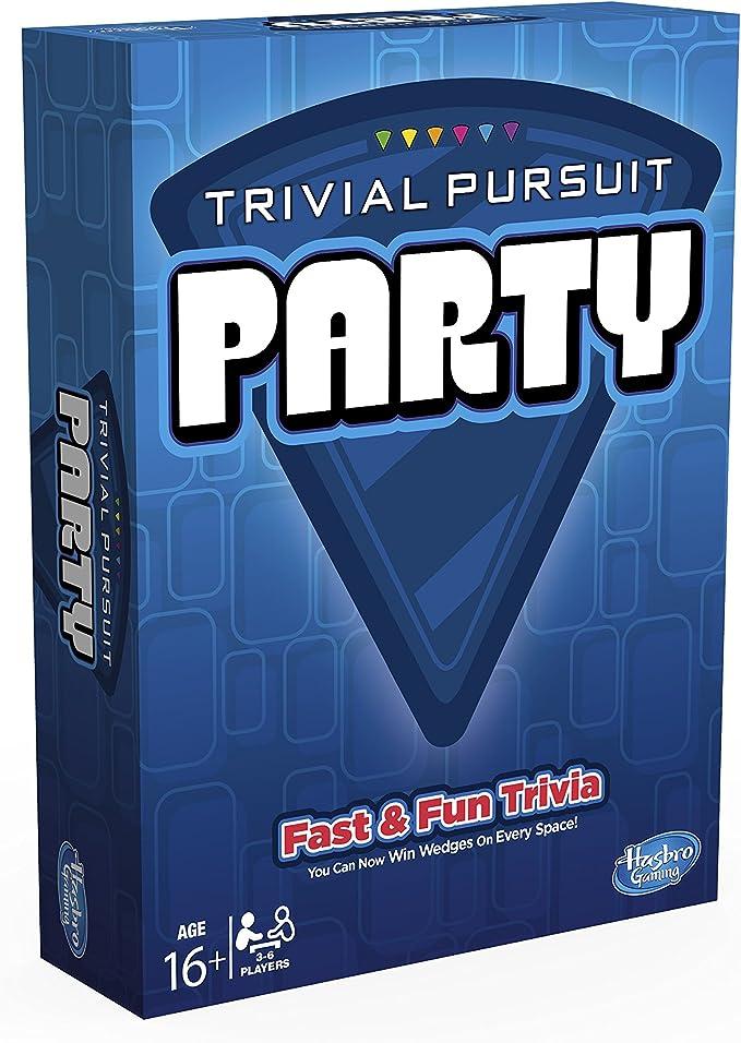 Hasbro - Juegos en Familia Trivial Pursuit Party (A5224105 ...