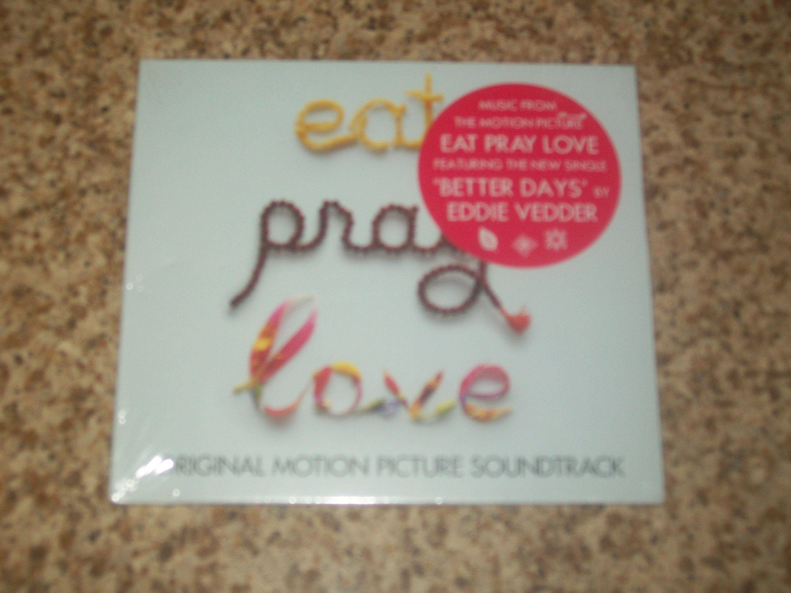 Eat Pray Love Various Artists product image
