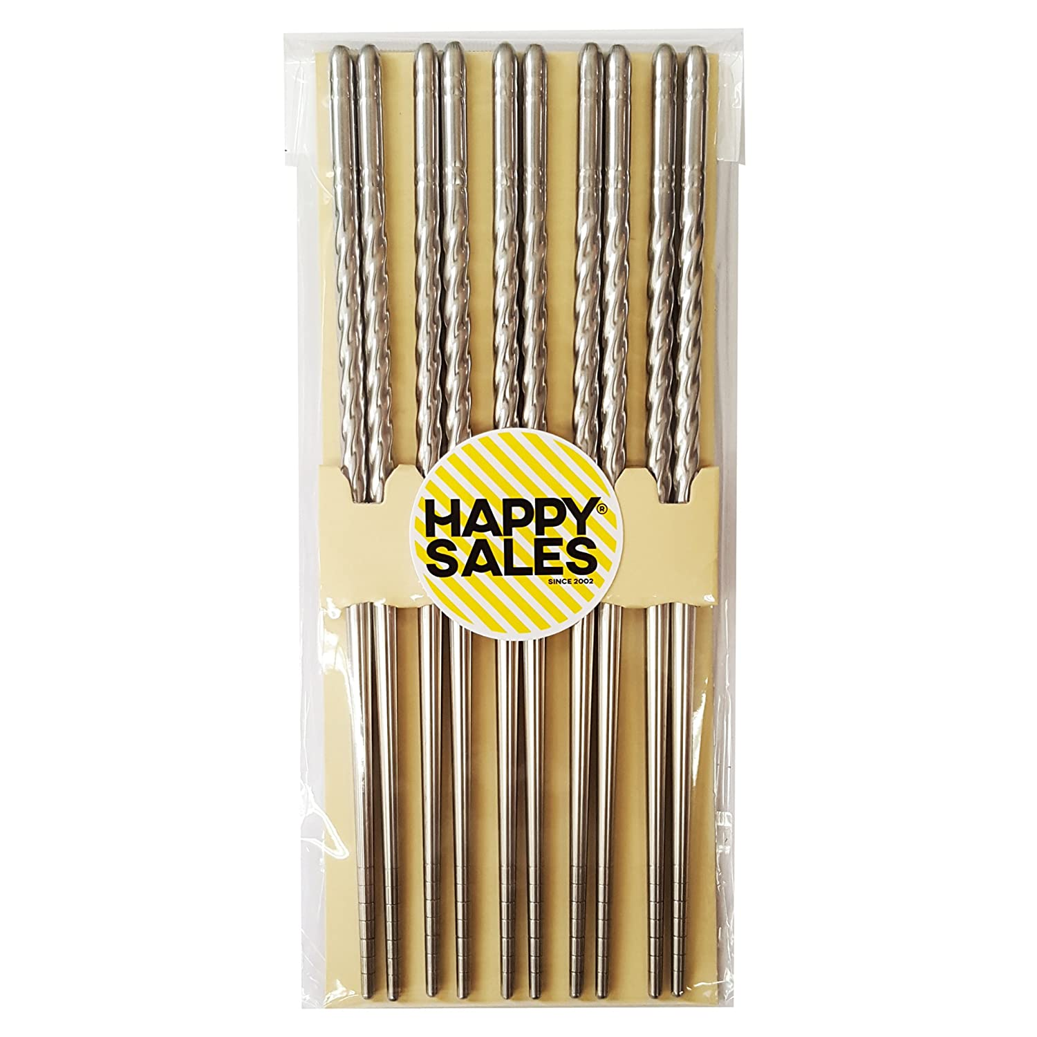 Happy Sales Stainless Steel Twist Chopsticks Review