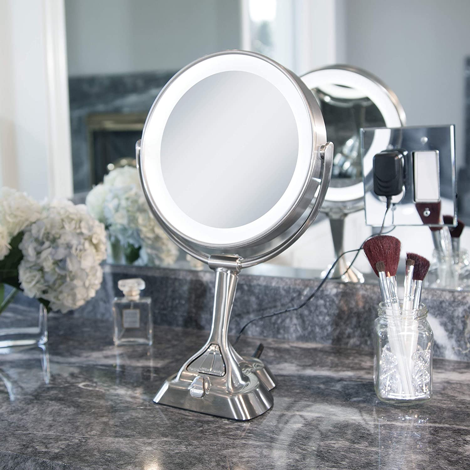 Cheap Zadro Led Light Dimmable Dual Sided Vanity Mirror