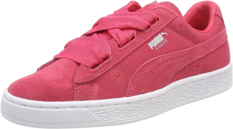 PUMA Suede Heart Jr 365135 01, Sneakers Basses Mixte Enfant