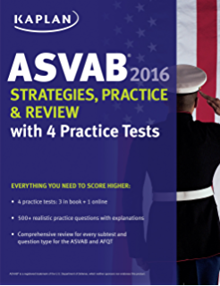 Amazon kaplan asvab premier 2016 with 6 practice tests book kaplan asvab 2016 strategies practice and review with 4 practice tests book fandeluxe Choice Image