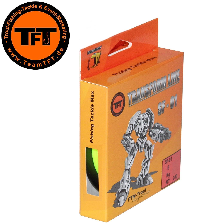 TFT Transform Line SF de 01 200 m Fluo Amarillo - Aparejo de ...