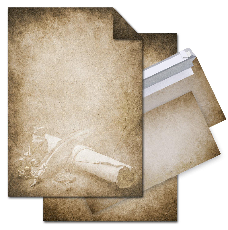 '12fogli di carta vecchio motivo