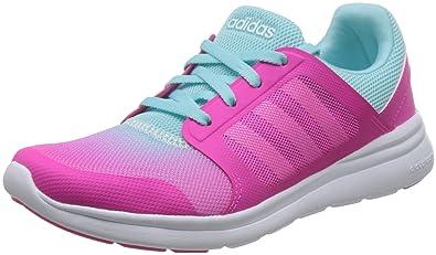check out 6f169 836d8 adidas Cloudfoam Xpression W Chaussures de Sport Femme, Rouge Rose  ShockingBlanc Footwear Bleu