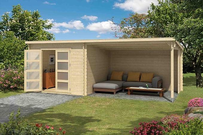 Jardín Casa G177 Incluye schlepp DACH - 28 mm listones hogar, superficie: 16,50 M², Pult techo: Amazon.es: Bricolaje y herramientas