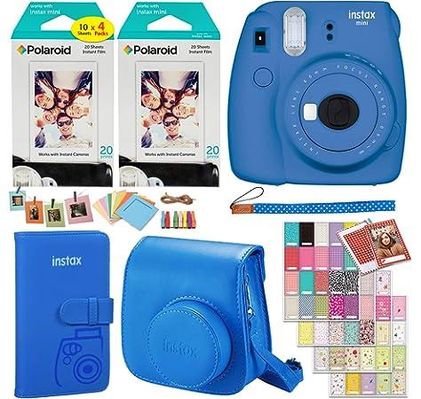 Amazon.com : Fujifilm Instax Mini 9 Instant Camera (Cobalt ...