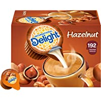 International Delight, Hazelnut, Single-Serve Coffee Creamers, 192 Count (Pack of 1), Shelf Stable Non-Dairy Flavored…