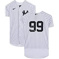 """$764 » Aaron Judge New York Yankees Autographed White Nike Authentic Jersey with""""2017 AL ROY"""" Inscription - Fanatics Authentic Certified"""
