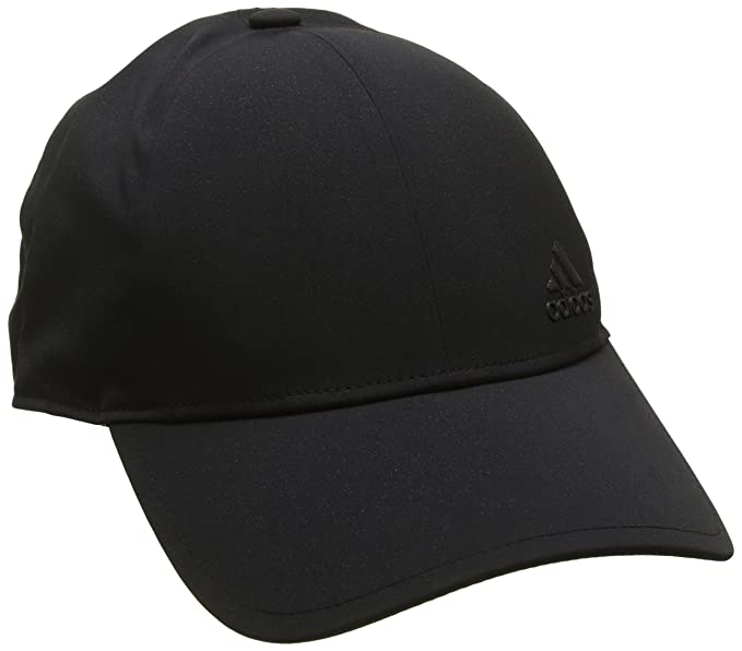 0d4a416e179 Amazon.com  Adidas Bonded Cap in Black  Sports   Outdoors
