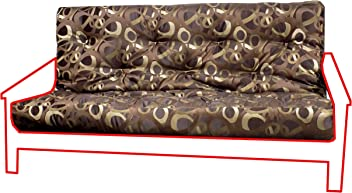 Royal Sleep Products Memory Foam Futon Mattress Upholstery Cover Factory Direct Full/Queen (Full
