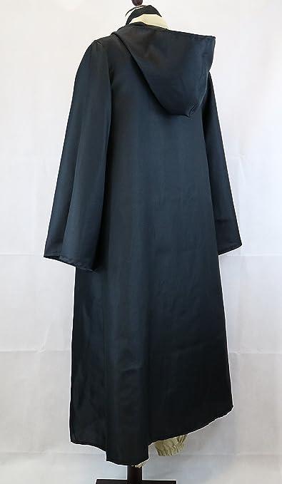 hideaway Star Wars Jedi Style Robe Costume [ Black Version ] Anakin, OBI-Wan, Luke Cosplay Set
