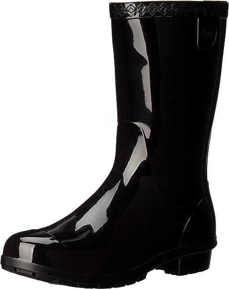 UGG Kids' Raana Boot, Black, 1 | Rain Boots