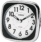 Vedette - VR10070 - Réveil Mixte - Quartz - Cadran Blanc - Bracelet