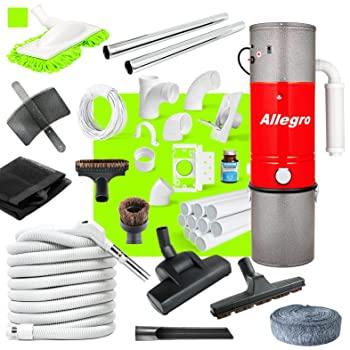 Allegro Unit 3 650 Air Watts Central Vacuum System