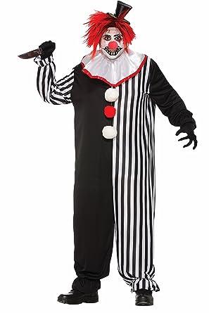 Forum Menu0027s Evil Clown Costume Multi X-Large  sc 1 st  Amazon.com & Amazon.com: Forum Menu0027s Evil Clown Costume Multi X-Large: Clothing