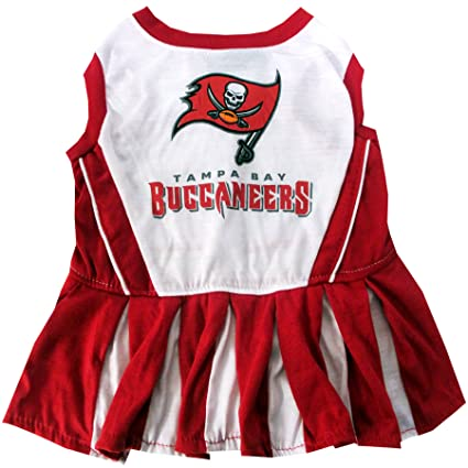 Amazon.com   Tampa Bay Buccaneers NFL Cheerleader Dress For Dogs ... d32f8eb38