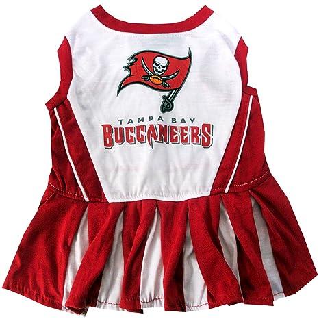 Amazon.com   Tampa Bay Buccaneers NFL Cheerleader Dress For Dogs ... 18ca03695