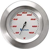 Lantelme 5122 Racing Termómetro para barbacoa/ahumador/ahumado/parrilla carro. Analógico/bimetal/acero