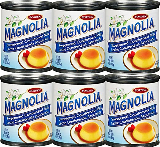 Amazon.com : Magnolia Sweetened Condensed Milk 14 oz - 6 Cans : Grocery Gourmet Food : Grocery & Gourmet Food