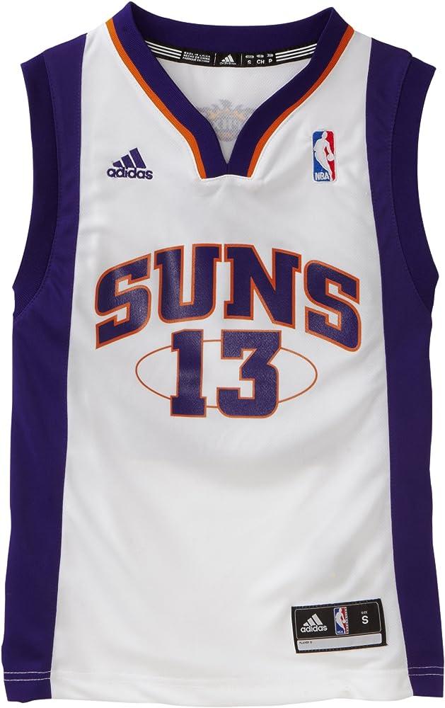 Amazon.com : NBA Youth Phoenix Suns Steve Nash Replica Home Jersey ...
