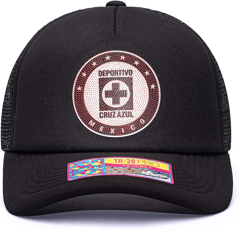 Fan Ink Cruz Azul Shield Trucker Snapback Hat//Cap