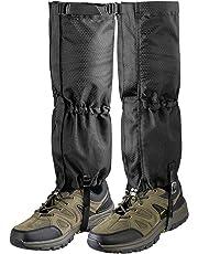 Unigear Hiking Gaiters Leg Gaiters,1 Pair Durable Waterproof Warmth Gaiters for Outdoor Walking Climbing Hunting Skiing,600D Anti-tear Oxford Fabric