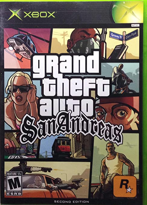 Grand Theft Auto San Andreas Xbox Microsoft Xbox Computer And Video Games Amazon Ca
