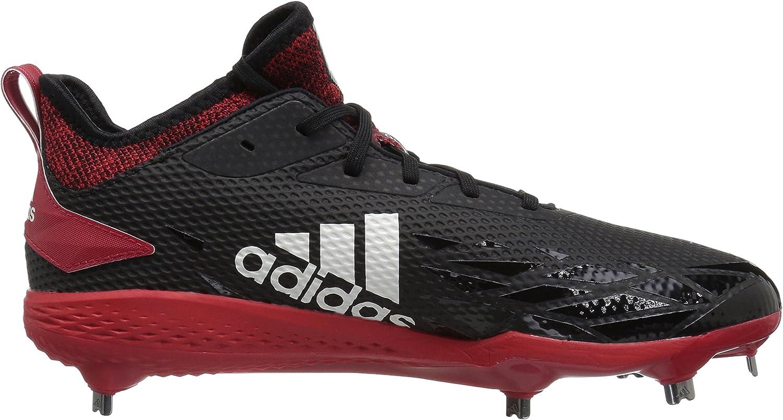 adidas - Adizero Afterburner V, Adizero Afterburner V. Uomo Black Cloud White Power Red