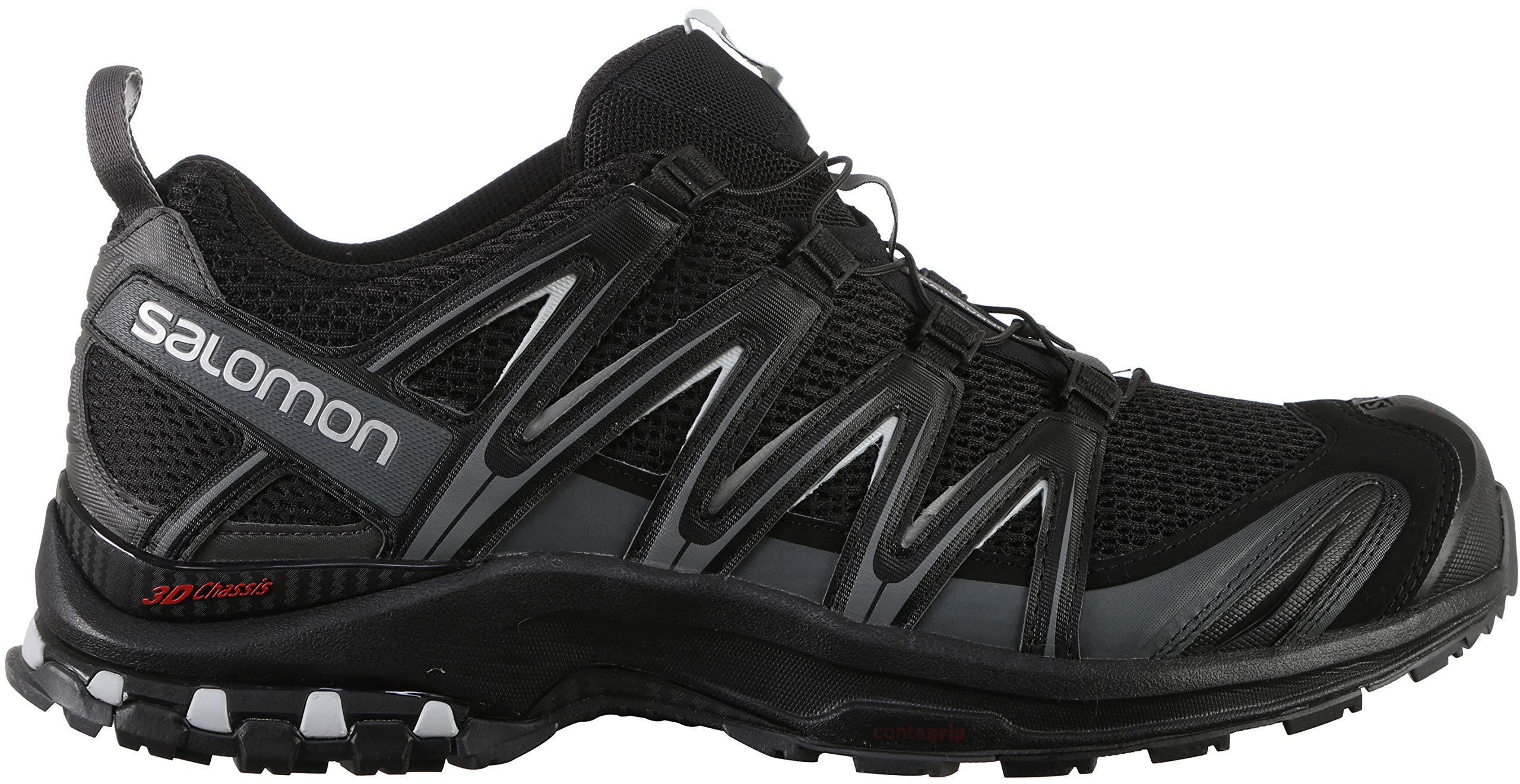 Salomon Men's XA PRO 3D Trail Runner, Black, 11.5 M US by SALOMON