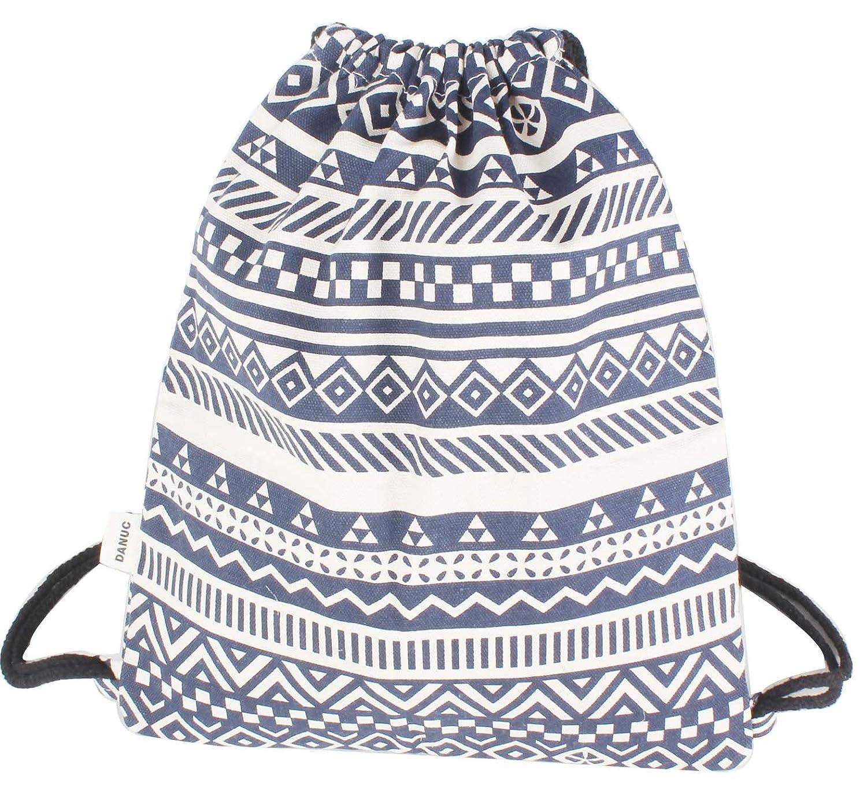 DANUC Gym Sack Bag Drawstring Backpack Sport Bag for Men /& Women School Travel Backpack DY-01