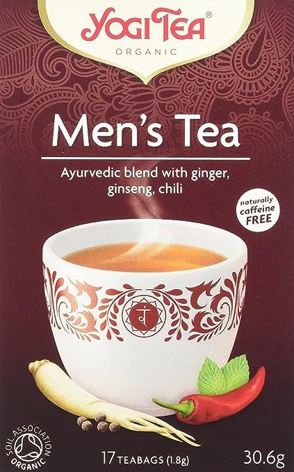 Yogi Tea Mens Tea 17 Bag: Amazon.es: Alimentación y bebidas