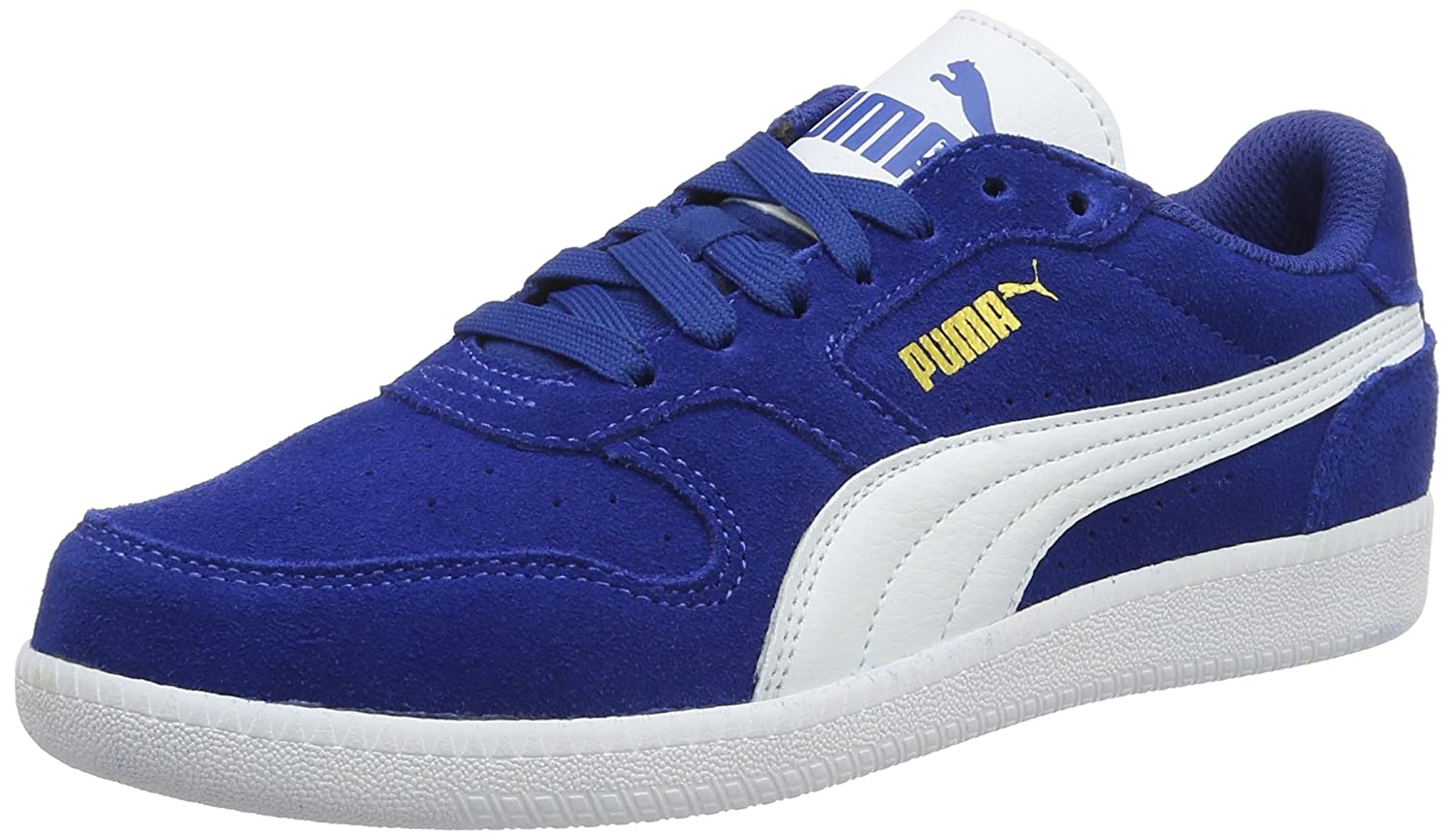 Puma Men's Icra Trainer Sd Leather Sneakers: Buy Online at Low Prices in  India - Amazon.in